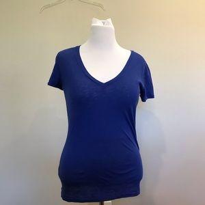 J. Crew  Blue Vintage Cotton T-Shirt
